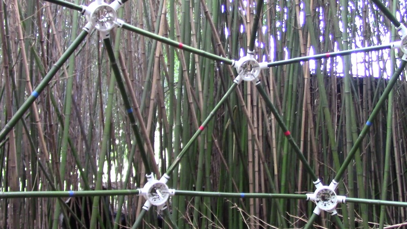 Bamboo Geodesic Dome - How to Build a Geodesic Dome with Bamboo Struts