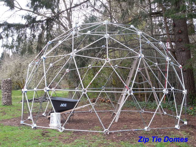 Customer Review - 3v 5/8 Geodesic Dome 'Hubs Only' Kit