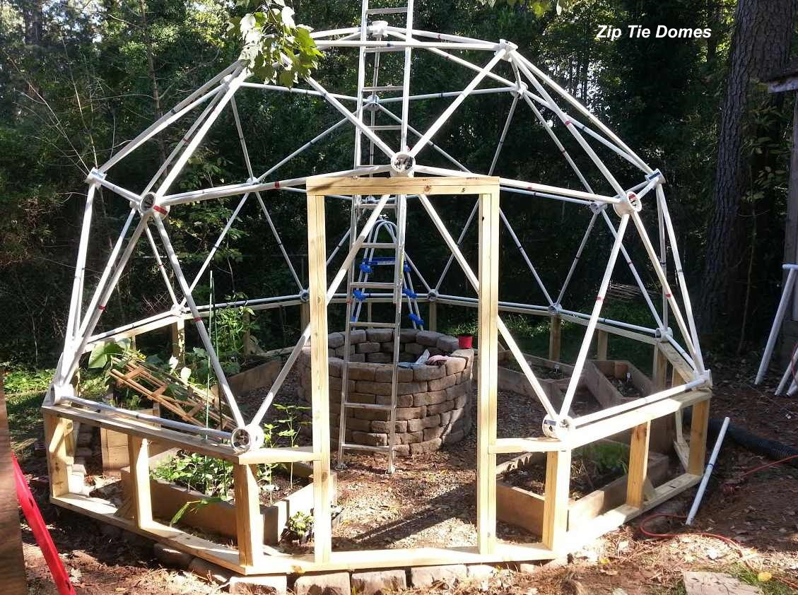 Build Your Own Dome House Kit