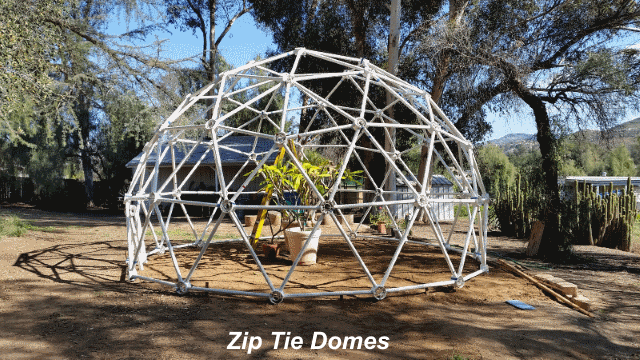 20' Wide, 12' Tall 3v Geodesic Shelter Dome
