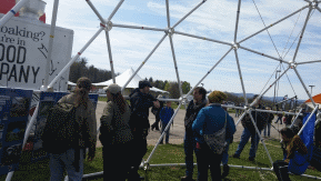 Zip tie domes geodesic dome greenhouse kits and chicken - The geodesic dome in connecticut call of earth ...