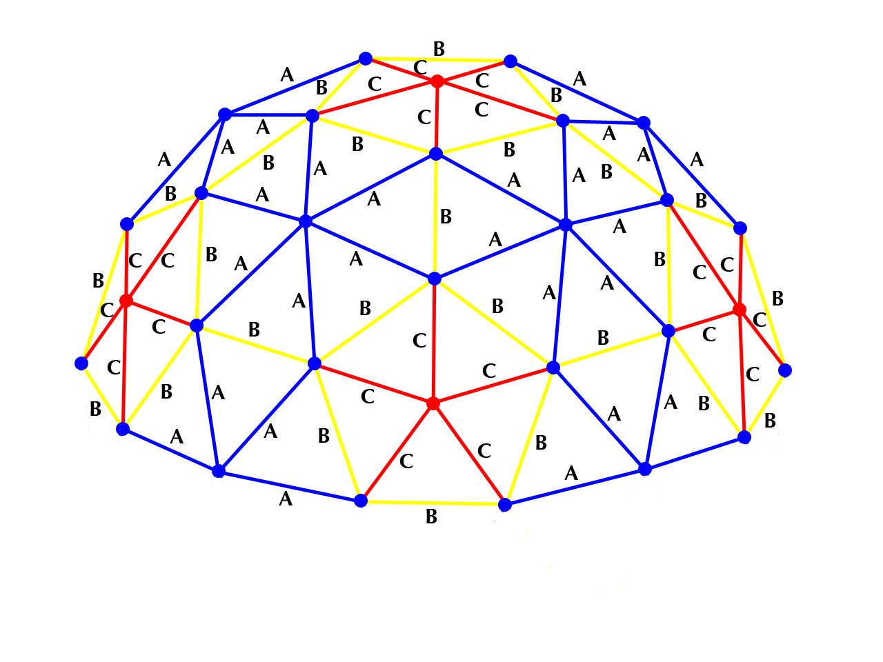 3v 3/8 Geodesic Dome Calculator