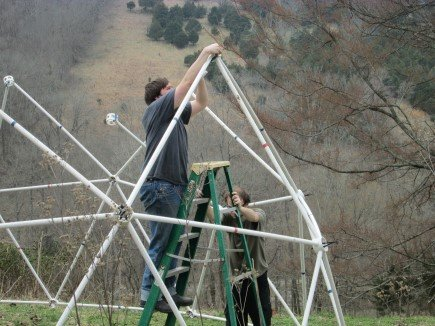 Building the 20' Dome