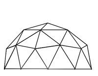 2 Frequency Icosahedron Dome