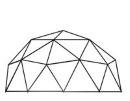 2v Icosahedron Geodesic Dome Calculator