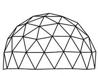 House 176772 additionally Building Your Own Goedesic Greenhouse Baby Steps respond moreover Dome House Plans Kits also Article further Skylights custom. on domed greenhouse