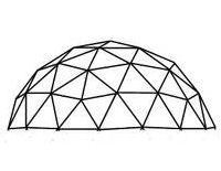 3v 3/8 Icosahedron Geodesic Dome Calculator